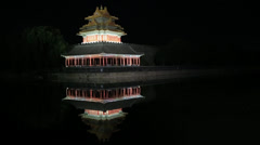Forbidden city Stock Footage