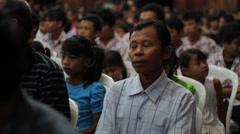 Indonesian People Stock Footage