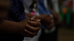People Praying, Indonesia Stock Footage