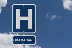 Sairaalassa ja Obamacare Kuvituskuvat