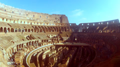 Rome Coliseum Stock Footage
