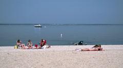 Sunny summer beach (9 of 10) Stock Footage
