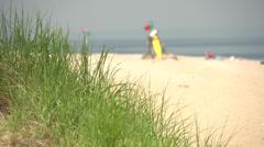 Sunny summer beach (7 of 10) Stock Footage