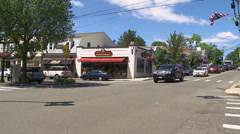 Town crossroads (13 of 13) Stock Footage
