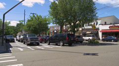 Town crossroads (11 of 13) Stock Footage