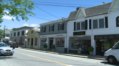Town crossroads (9 of 13) Stock Footage