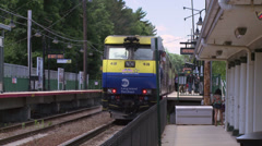 Locust Valley train station (1 of 4) Stock Footage