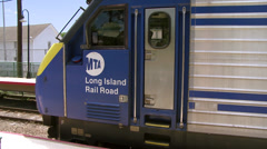 Locust Valley train station (3 of 4) Stock Footage