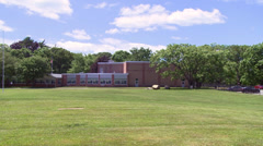 Large private school (2 of 2) Stock Footage