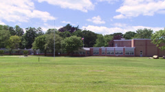 Large private school (1 of 2) Stock Footage