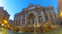 Fountain Trevi - stock footage