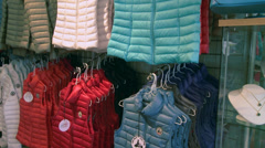 Inside a small shopping boutique (6 of 7) Stock Footage