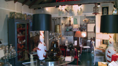 Inside a small shopping boutique (1 of 7) Stock Footage