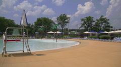 Club swimming pool (5 of 8) - stock footage