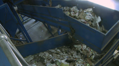 Functional trash conveyor system (9 of 10) - stock footage