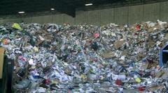 Bulldozer handling waste (9 of 9) - stock footage