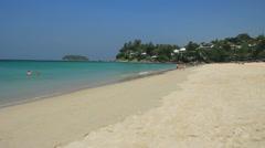 Kata Noi beach Phuket Stock Footage