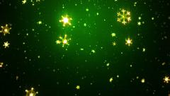 Bright snowflakes. 2 colors in 1. Loopable. - stock footage