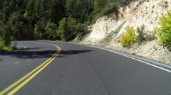 Sedona Drive POV 3706 - stock footage