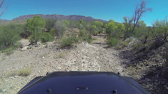 Desert Off Road POV PT2of4 3698 Stock Footage