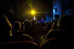 Rock-konsertti valot Kuvituskuvat
