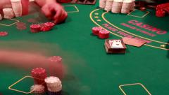 099 Poker Game - stock footage