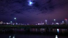 222 Boston Skyline from MIT Stock Footage