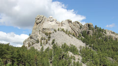 Mt. Rushmore Stock Footage