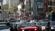 Stock Video Footage of Hollywood Boulevard
