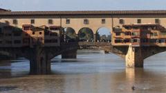Ponte Vecchio 01 1 Stock Footage