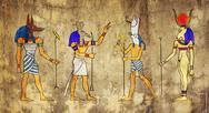 Stock Illustration of egyptian gods and goddess