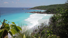 Seychelles, La Digue island - stock footage