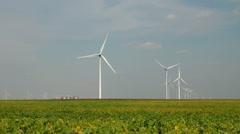 Wind farm 08 Stock Footage