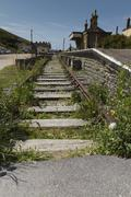 Stock Photo of end of the line (railway)