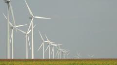 Wind farm 07 Stock Footage
