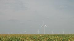 Wind farm 02 Stock Footage