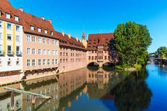 Scenery of Nuremberg, Germany - stock photo