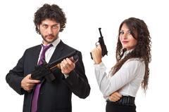Aseistettu liiketoiminnan Kuvituskuvat