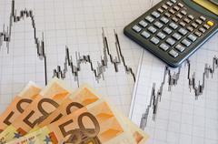 easy money with forex - stock photo
