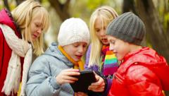 Young Users Stock Footage