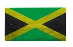 jamaican cutting board - stock photo