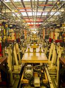 Samutprakarn, thailand - november 1 assembly line for make car on november 1, Kuvituskuvat