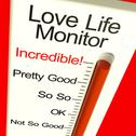 Stock Illustration of love life meter incredible showing great relationship