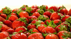 Strawberries Stock Footage