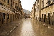 Stock Photo of strada of dubrovnik