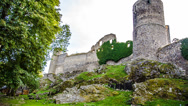 Stock Video Footage of Castle Helfenburk, Czech Republic