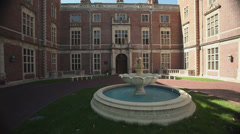 Exterior and grounds of Webb Institute (3 of 6) - stock footage