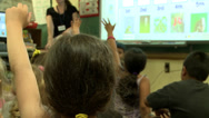 Stock Video Footage of Children participating in class (4 of 4)