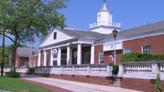 Huntington Post Office Stock Footage