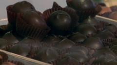 Chocolates in a Store Stock Footage
